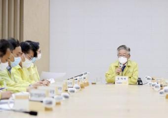 """이재명, 쿠팡발 확진자 증가에 """"쓰나미 준비할 그 시기 또 왔다"""""""